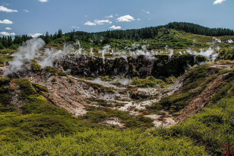 Geotermische Taupo Highlight - Craters of the Moon 1