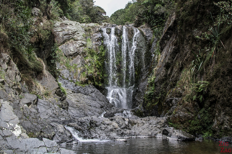 waterfalls NZ North Island - Piroa Falls