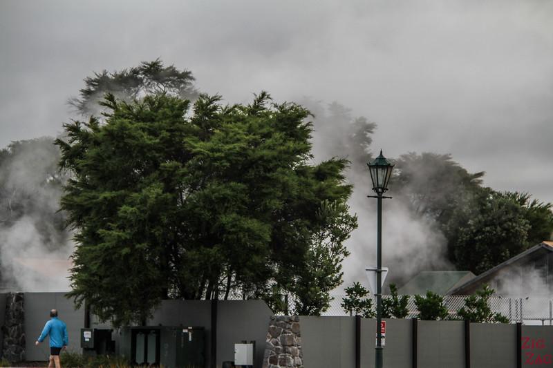 Rotorua Spa géothermique