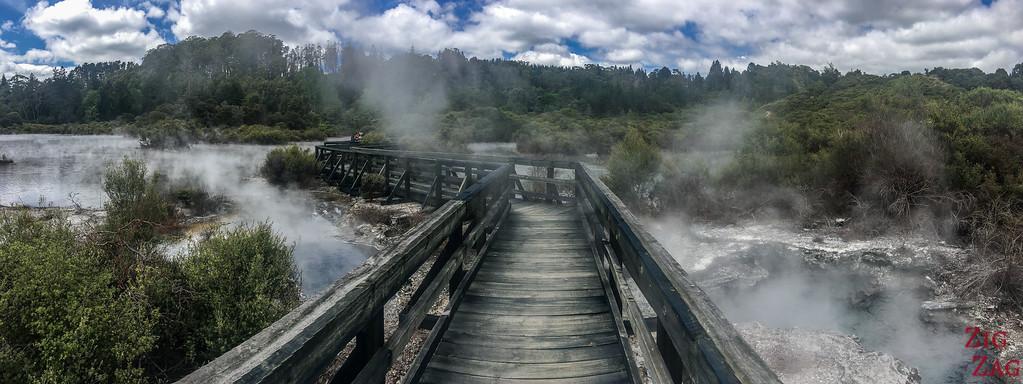 Rotorua Attraction geothermique - Whakarewarewa 2