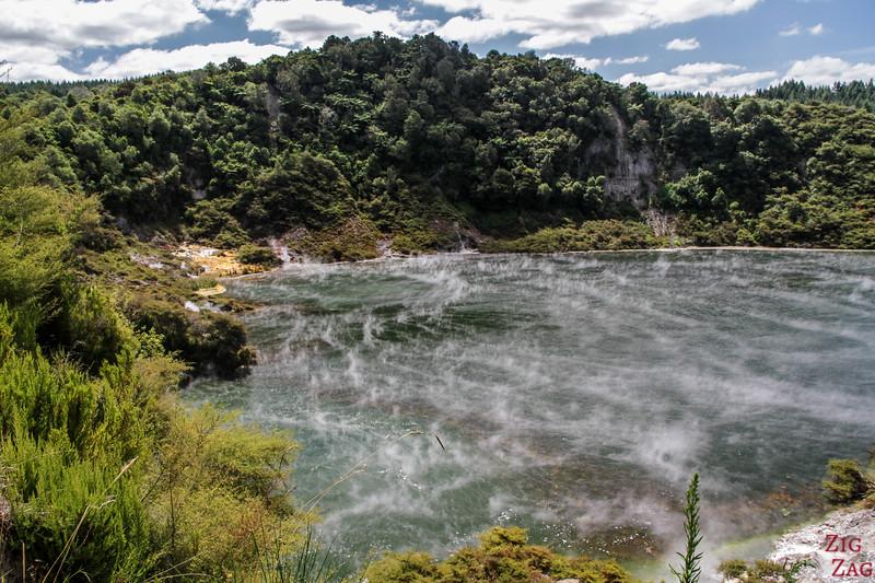 Rotorua Attraction geothermique - Waimangu 2