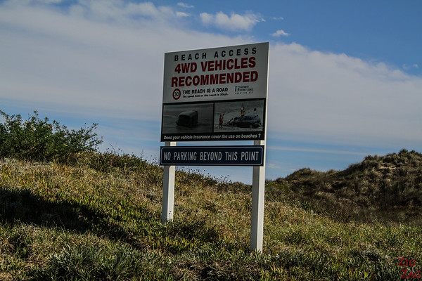 90 mile beach New Zealand access