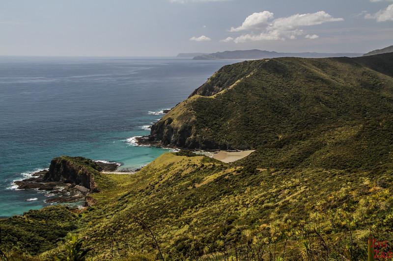 Hiking at Cape Reinga - Sandy Bay