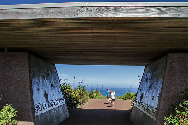 things to do at Cape Reinga - lighthouse walk entrance