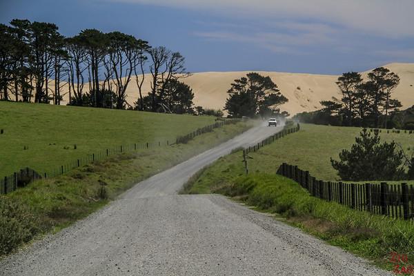 Dunes du Cap Reinga - Te Paki road