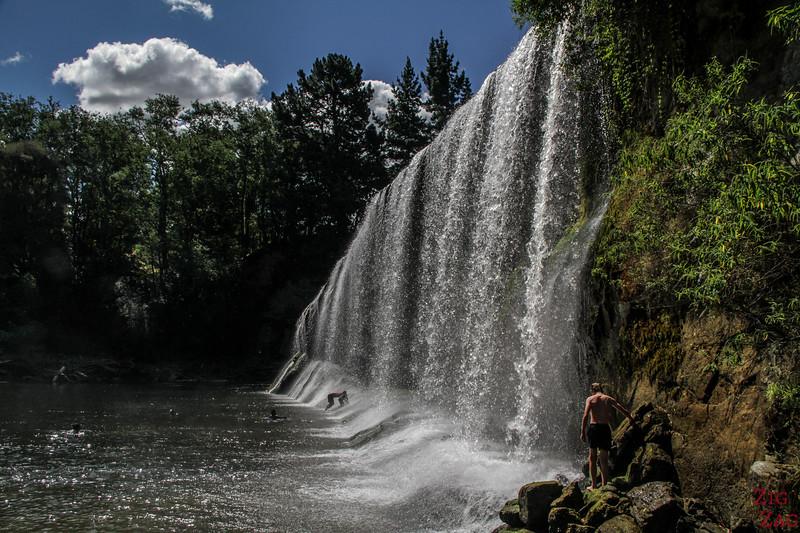 Nordinsel Neuseeland Reiseziele - Rere falls