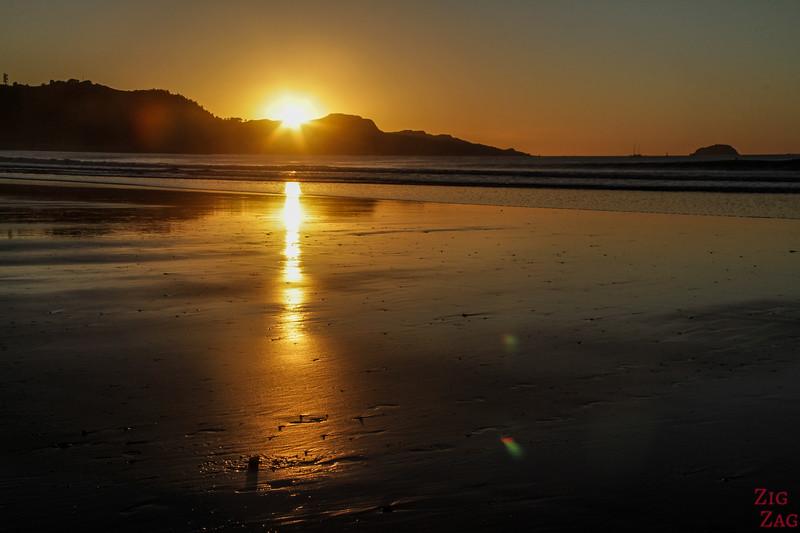 Voyager en New Zealand - Lieux d'intérêt sur les côtes - Gisborne