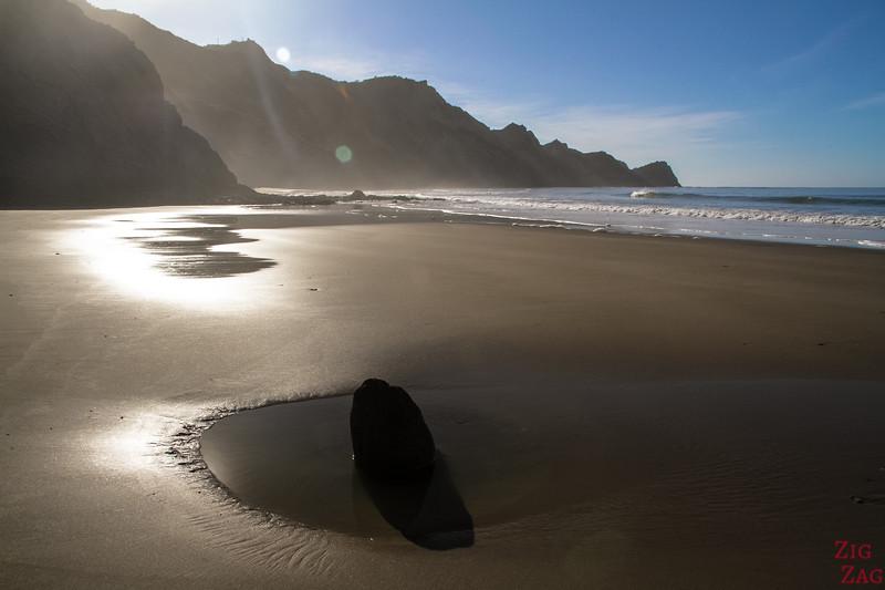 beautiful beach in New Zealand - Sponge Bay