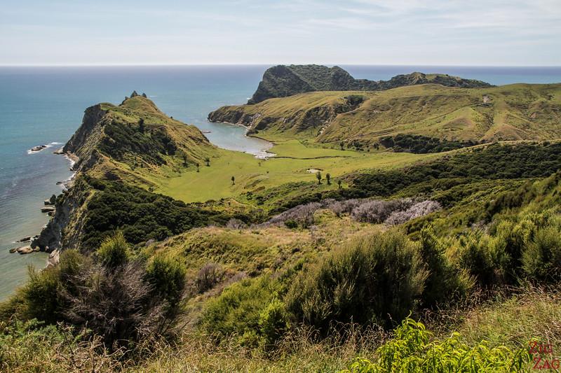 Circuit en Nouvelle-Zélande - où aller sur l'île Nord - Cooks cove