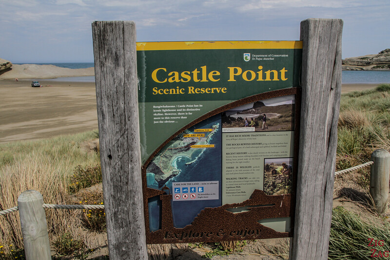 Castle Point Scenic Reserve carte