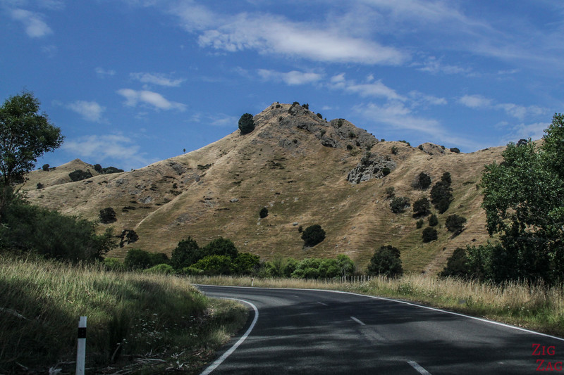 Drive to Castlepoint New Zealand 2