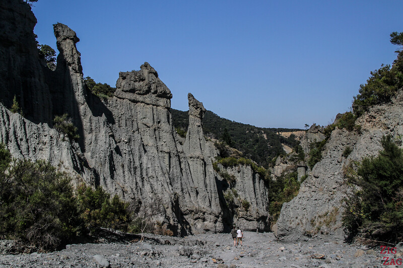 Best places to visit New Zealand North Island - Putangirua Pinnacles