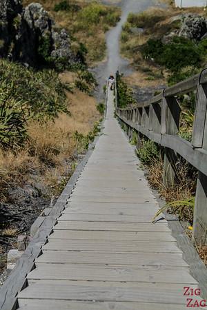 Escalier phare Cape Palliser