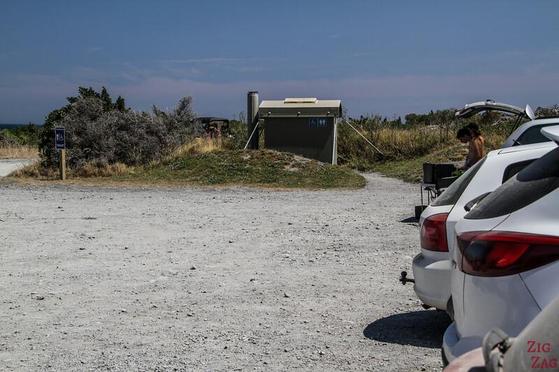 Cape Palliser parking