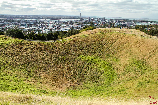 New Zealand 10 day itinerary North Island - Mt Eden