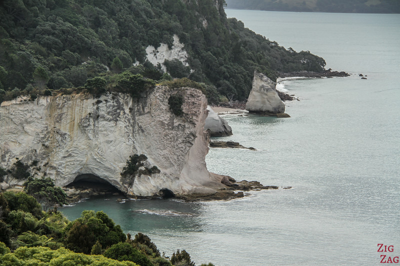 Cathedral Cove Walk - views 2