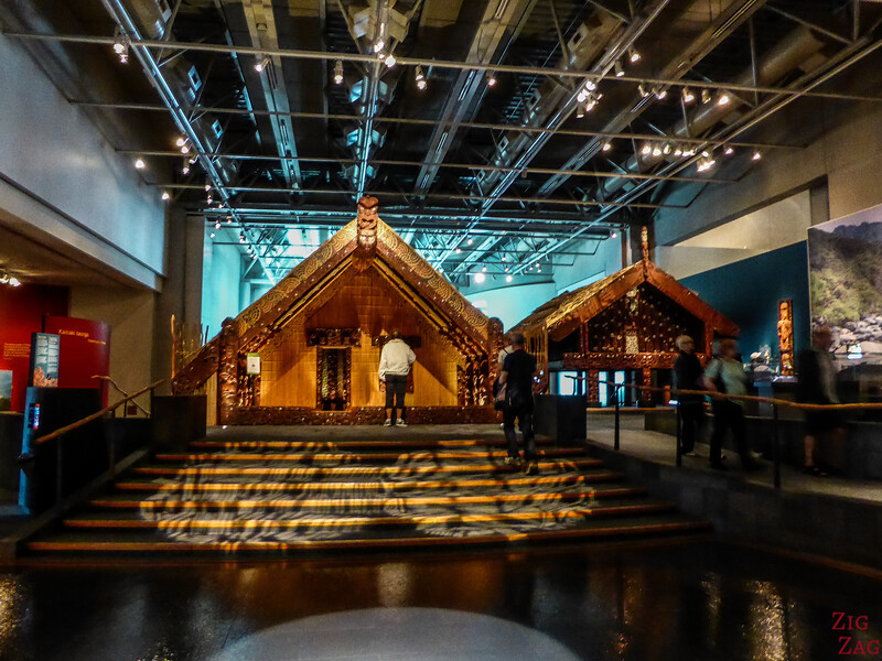 What to do in New Zealand North Island - Te Papa Museum
