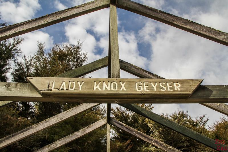 Wai-O-Tapu Geyser - Lady Knox 1
