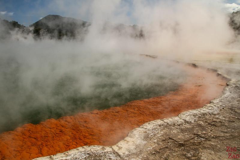 Rotorua Attraction geothermique - Wai-o-tapu 1