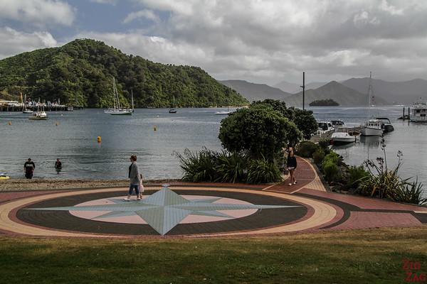 Nouvelle-Zélande, île du nord vs île du sud - picton