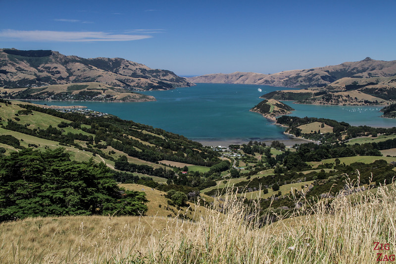 Best volcanic landscapes in New Zealand - Akaroa