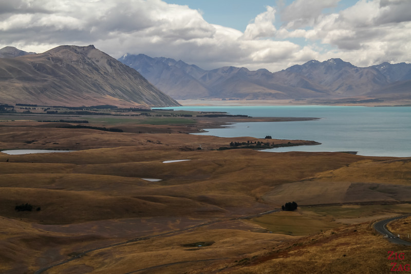 Best New Zealand Landscapes around lakes - Tekapo