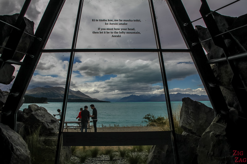 Mount Cook / Aoraki - office tourisme Lac Pukaki