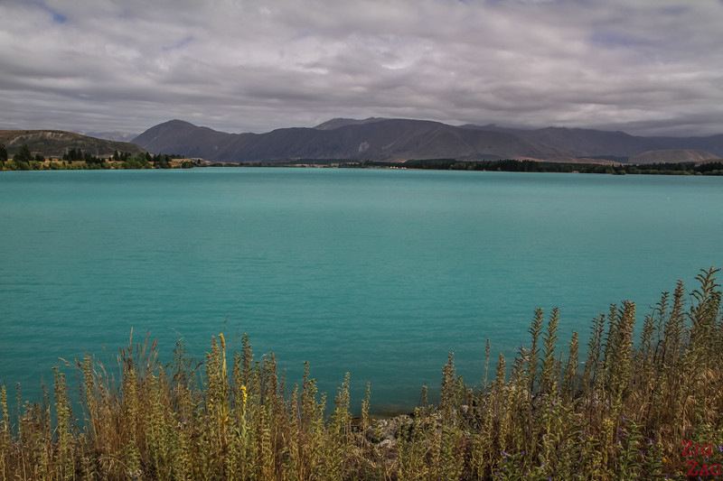Puakaki colour - Blue Lake in New Zealand 2