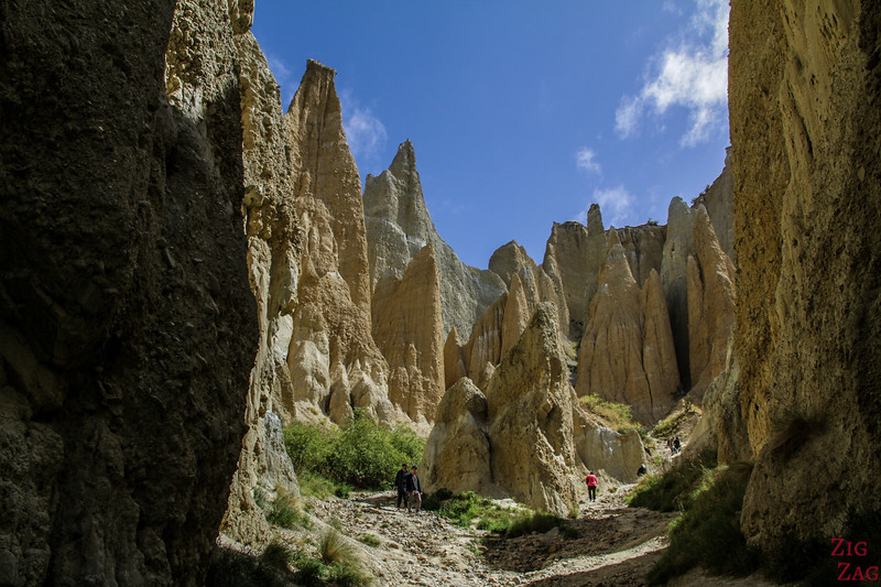 inside photo Omarama clay cliffs New Zealand 3