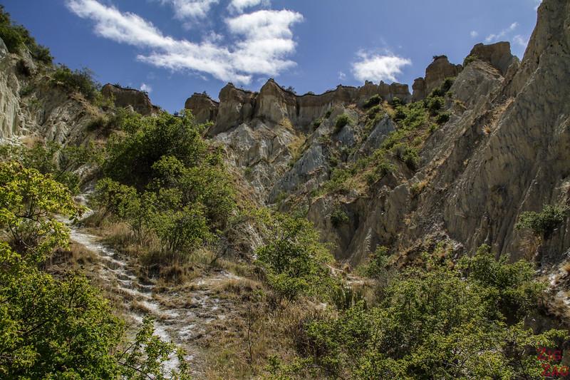 Rando Omarama clay cliffs Nouvelle Zélande 2