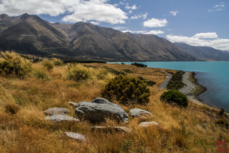 Lake Ohau - Off the beaten path in New Zealand South Island