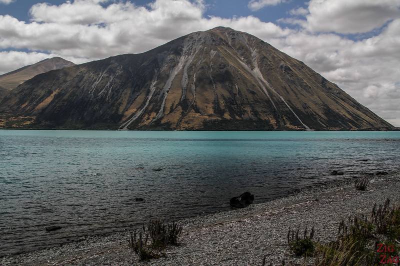 Lake Ohau - Off the beaten path in New Zealand South Island 2