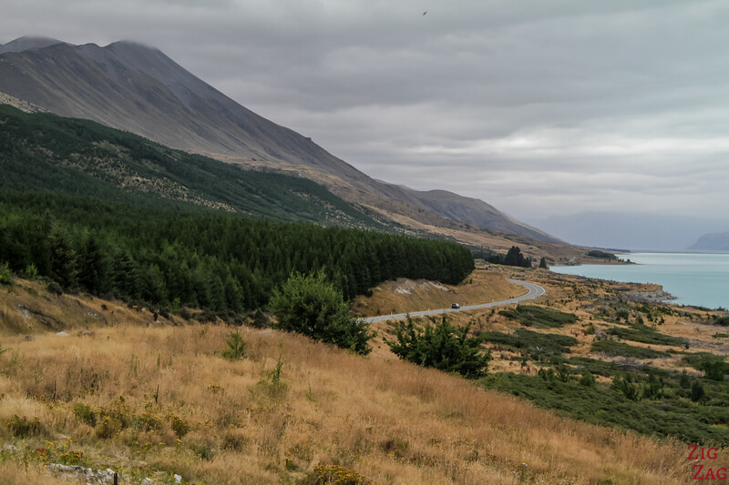 Mount Cook road