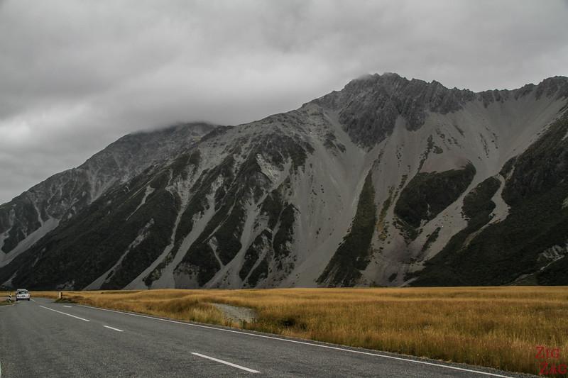 Hooker valley road