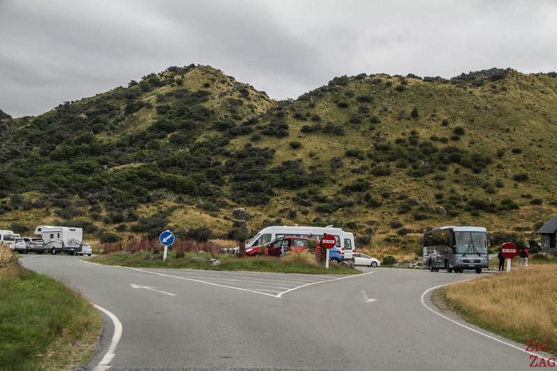 Tasman Valley Road carpark
