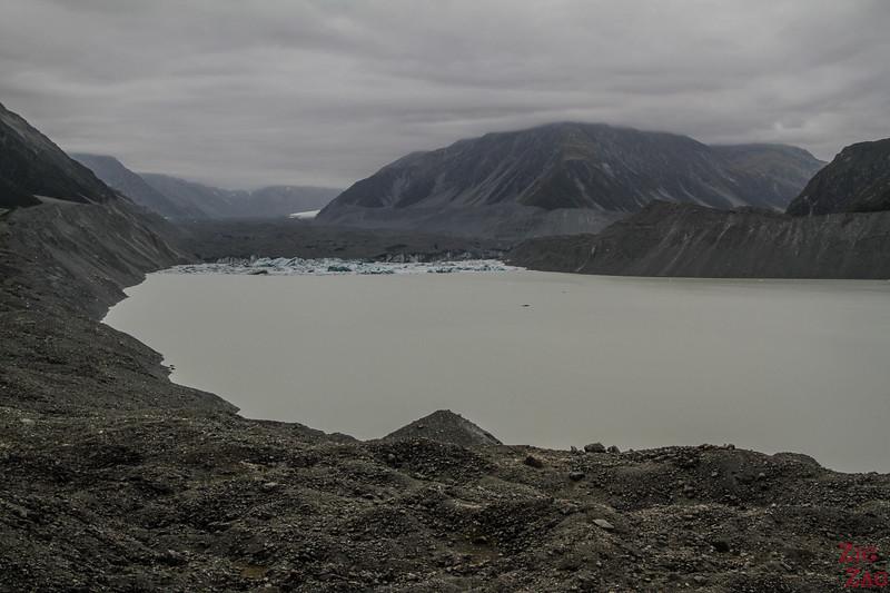 Why do the Tasman Glacier Walk New Zealand
