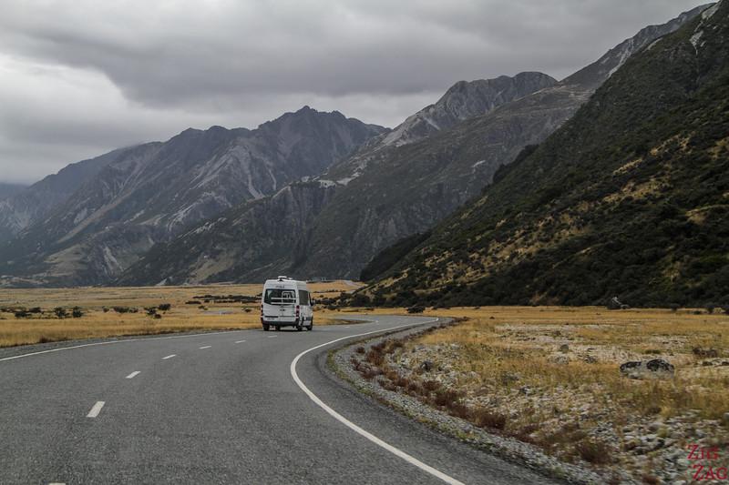 Tasman Valley Road New Zealand 3