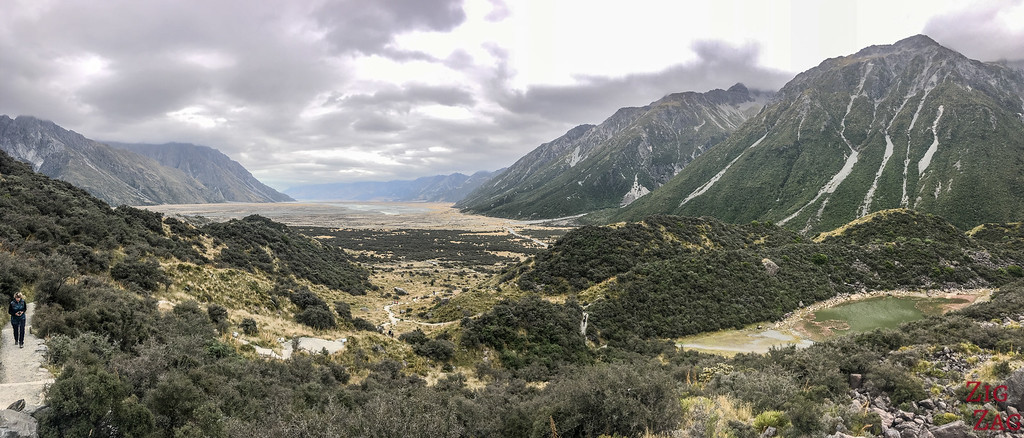 New Zealand Tasman Valley walk views 1