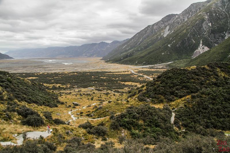 New Zealand Tasman Valley walk views 2