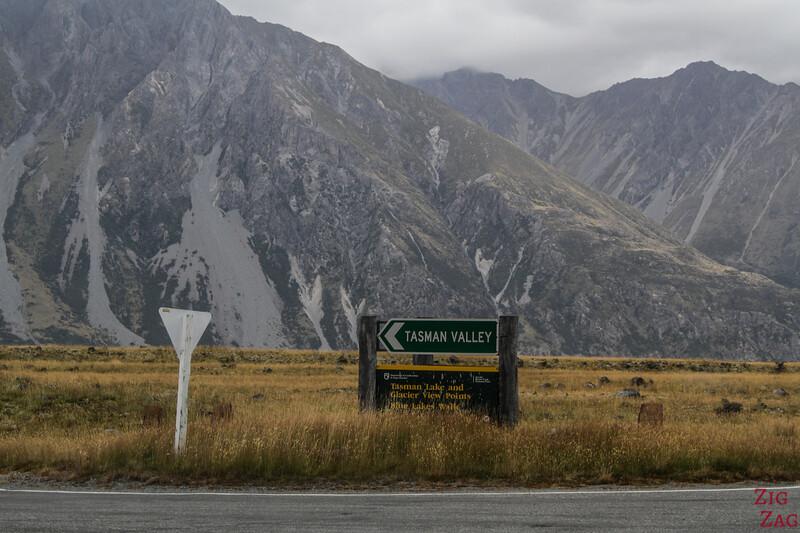 Tasman Valley Road New Zealand 1