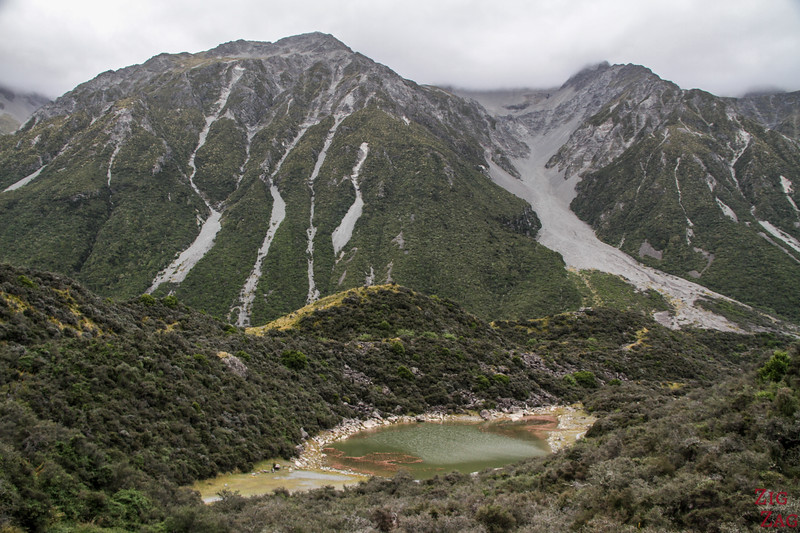 The (Green) Blue Pools of the Tasman Valley 1
