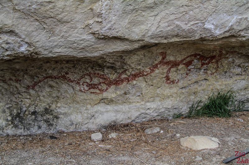 Takiroa rock art site 2