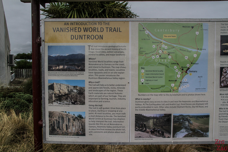 Vanished World Trail - Map