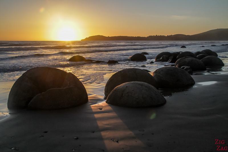 Plus belles plages de Nouvelle-Zélande - Moeraki 1
