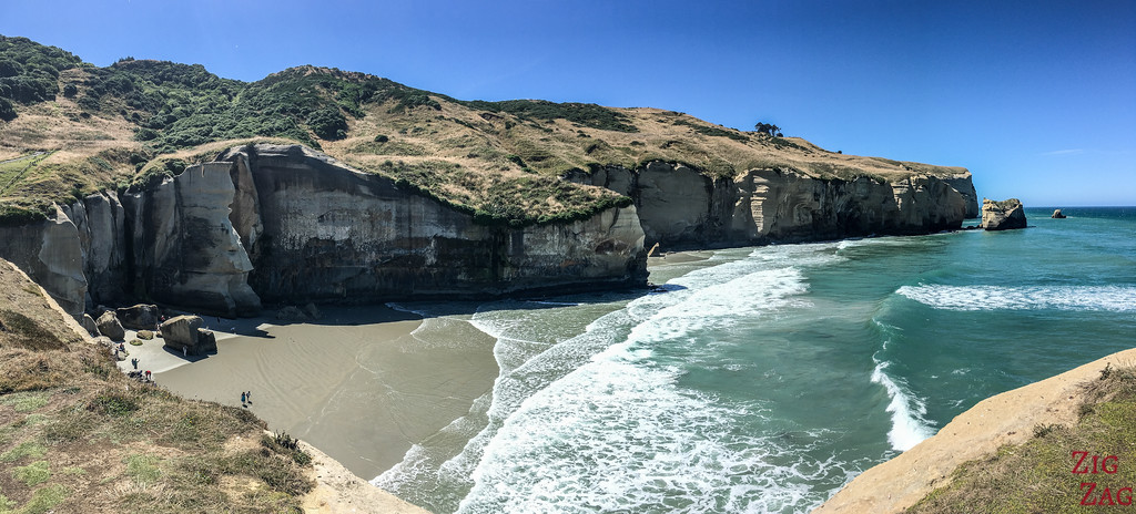 Tunnel beach New Zealand 3