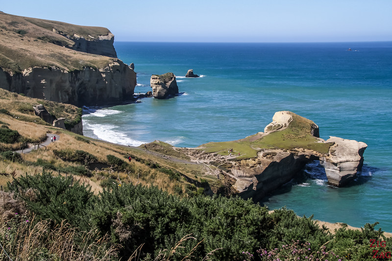 activities in South Island New Zealand - Tunnel Beach