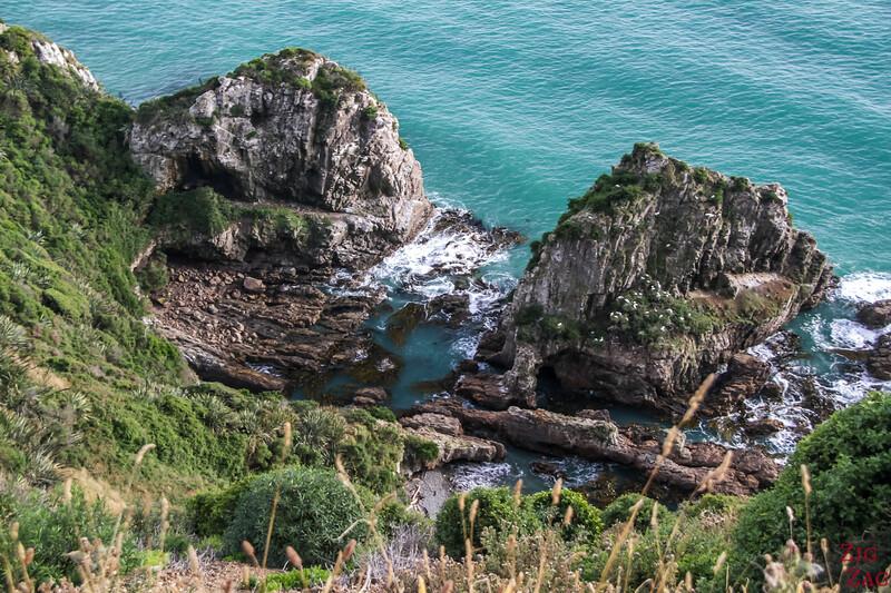 chemin du phare de Nugget Point