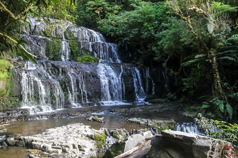 NZ waterfalls - South Island - Parakanui falls