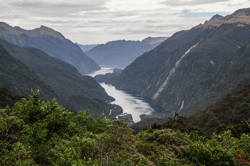 Scenic fjords -  the most famous NZ scenery - Doubtful Sound