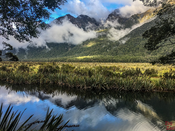 New Zealand South Island Itinerary 7 days - Mirror Lakes
